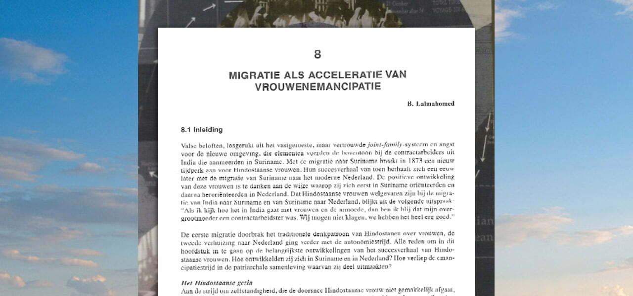 Migratie- en emancipatiegeschiedenis